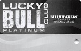 Bullwhackers Casino - Black Hawk, CO - BLANK Slot Card - Casino Cards