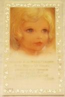 Antiguo Recordatorio Primera Comunión - Busquets Gruart 1989 - Comunión Y Confirmación