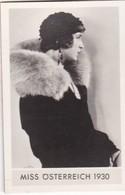 MISS OSTERREICH 1930. ORIGINAL BEAUTY CONTEST. FOTO PHOTO SIZE 4x6cm- BLEUP - Identified Persons