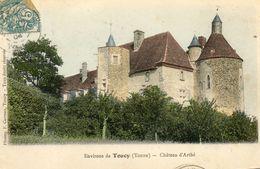 Environs De TOUCY - Le Château D'Arthé  (rare En Couleurs)   -19985- - Toucy