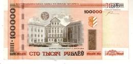 Belarus P.34 100000 Rublos 2000   A-unc - Bielorussia