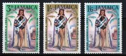 Jamaica 1963 Set Of Stamps To Celebrate Miss World. - Jamaica (1962-...)