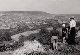 Photo Originale Meurthe-et-Moselle Vue Générale De Neuves-Maisons (54230) Du Fort De Pont Saint-Vincent En 1952 - Lieux