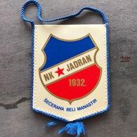 Flag (Pennant / Banderín) ZA000257 - Football (Soccer / Calcio) Croatia Jadran Beli Manastir - Apparel, Souvenirs & Other