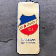 Flag (Pennant / Banderín) ZA000259 - Football (Soccer / Calcio) Croatia Jadran Beli Manastir - Apparel, Souvenirs & Other