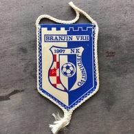 Flag (Pennant / Banderín) ZA000262 - Football (Soccer / Calcio) Croatia Jedinstvo Branjin Vrh - Apparel, Souvenirs & Other