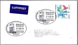 EXPO 2000 HANNOVER. Weltpartnertag Der Deutschen Post. Hannover 82 - 2000 – Hanover (Germany)