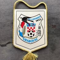 Flag (Pennant / Banderín) ZA000270 - Football (Soccer / Calcio) Croatia Lastavica Brestovac - Apparel, Souvenirs & Other