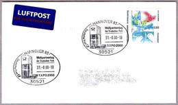 EXPO 2000 HANNOVER. Weltpartnertag Der Deutschen Post. Hannover 83 - 2000 – Hanovre (Allemagne)