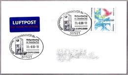 EXPO 2000 HANNOVER. Weltpartnertag Der Deutschen Post. Hannover 84 - 2000 – Hannover (Alemania)
