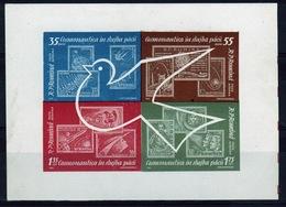Romania 1962 Mini Sheet To Celebrate Air Cosmic Flights. - 1948-.... Republics