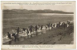 CPA - 06 - CANNES - Fondation Santa Maria - Le Bain De Mer Quotidien....... - Cannes
