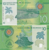 Nicaragua - 10 Cordobas 2015 ( 2014 ) UNC Lemberg-Zp - Nicaragua