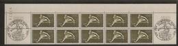 Bloc De 10 Timbres JO De Munich N°1722 (bord De Feuille,oblitération 1er Jour Dans Les Marges) - Ongebruikt