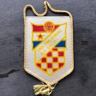 Flag (Pennant / Banderín) ZA000299 - Football (Soccer / Calcio) Croatia Omladinac Baranjsko Petrovo Selo - Apparel, Souvenirs & Other