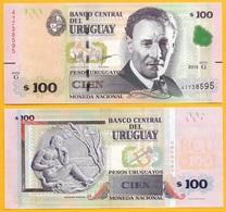 Uruguay 100 Pesos Uruguayos P-88c 2015(2017) (Serie G) UNC - Uruguay