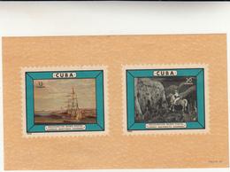 Cuba, Foglietto Inaugurazione Museo Postal - Blocchi & Foglietti