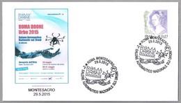 ROMA DRONE SHOW - Salon Aeronautico De DRONES. Roma Montesacro 2015 - Aerei