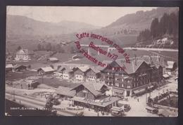 """P1110 - GSTAAD Ligne Montreux Oberland - Tampon Au Dos """" 80 """" - Suisse Berne - BE Berne"""