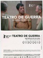 TEATRO DE GUERRA PELICULA LOLA ARIAS FILM VETERANOS GUERRA MALVINAS ARGENTINA VIA POSTAL MODERNA MODERN YEAR 2018 -LILHU - Reclame