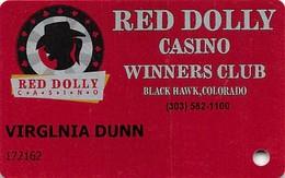 Red Dolly Casino - Black Hawk, CO -  Slot Card - Casino Cards