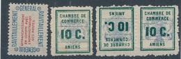 CD-520: FRANCE: Lot Avec Service N°15A**- Gréve N°1*-1b*(* Lourdes) - Grève