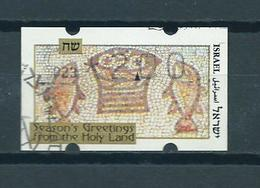 Israël ATM,label Holy Year Used/gebruikt/oblitere - Frankeervignetten (Frama)