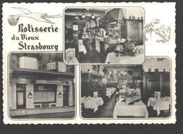 Brussel / Bruxelles - Rotisserie Du Vieux Strasbourg - 1961 - Cafés, Hôtels, Restaurants