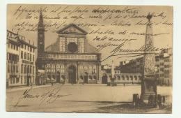 FIRENZE - S.MARIA NOVELLA 1910  VIAGGIATA FP - Firenze