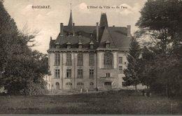 54 BACCARAT L'HOTEL DE VILLE VU DU PARC - Baccarat