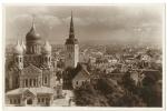 Eesti Tallinn Aleksander Nevski Cathedral Colour Real Photo 1930? - Estonie