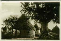 AFRICA - SOMALIA - INDIGENOUS VILLAGE - EDI PARODI - 1930s (BG134) - Somalia