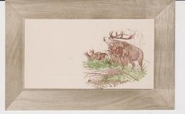 CERF . GAUFREE . MARY MILL . CARTE ANCIENNE - Animals