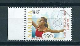 2008 Namibia Olympic Games Peking 4.20 Used/gebruikt/oblitere - Namibië (1990- ...)