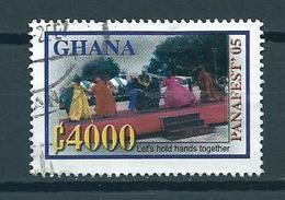 2005 Ghana Panafest Used/gebruikt/oblitere - Ghana (1957-...)