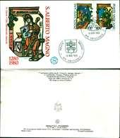 9576a)F.D.C.   SAN ALBERTO MAGNO 18-11-1980 - FDC