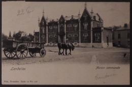 Landelies  Maison Communale Et Attelage - Montigny-le-Tilleul