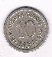 10 PARA  1883  SERVIE /6591/ - Serbie