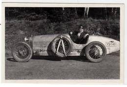 AUTO CAR VOITURE BUGATTI MOD. 35? -  FOTO ORIGINALE - Cars