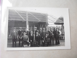 CPA PHOTO - LES ARCHERS EN 1926 - BAILLEUL - TERRAIN DE LA RUE DE LILLE - Tir à L'Arc