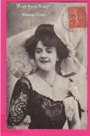 CPA  (Réf : (PA183) YVETTE D'ARCY Nouveau Cirque - Artistes