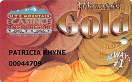 Ute Mountain Casino - Towaoc CO - Slot Card - Casino Cards