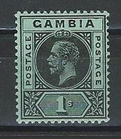 Gambia SG 97, Mi 77x * MH - Gambia (...-1964)