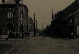 La Bouverie  Le Quartier De L'attaque Et La Rue De Jemappes - Frameries