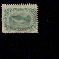 NEWFOUNDLAND1866:Michel 16y Used Cat.Value50Euros($59) - Newfoundland