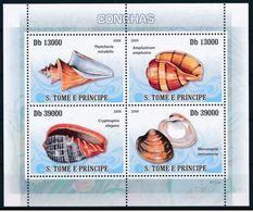 Saint Thomas  2009  Shells Coquillages  Phares  MNH - Muscheln