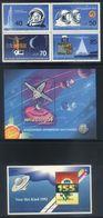 E22 - Lot Unused Stamps - Space Rockets Sattelites Astronauts - Spazio