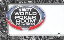 Foxwoods Casino - Ledyard, CT - Slot Card - Casino Cards