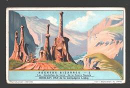 Chromo Liebig - Rochers Bizarres - N° 2 - California - Sierra Nevada - USA - Liebig