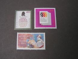 BRD  Lot 1996   **  MNH  Weit Unter Postpreis  1847,1879,1880  €  10,00 - [7] République Fédérale